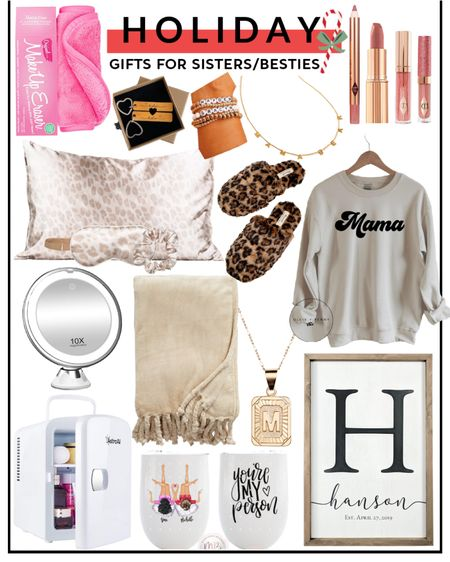 Christmas gifts for sisters and besties. Holiday. Presents. http://liketk.it/31tX1 @liketoknow.it #liketkit #LTKunder50 #LTKfamily #LTKstyletip
