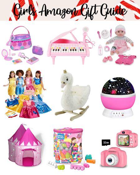 Little girls gift guide, gift guide, amazon finds, kids gift guide, kids toys, toy gift guide. #LTKgiftspo #LTKkids #LTKunder50 #liketkit @liketoknow.it http://liketk.it/33mpO