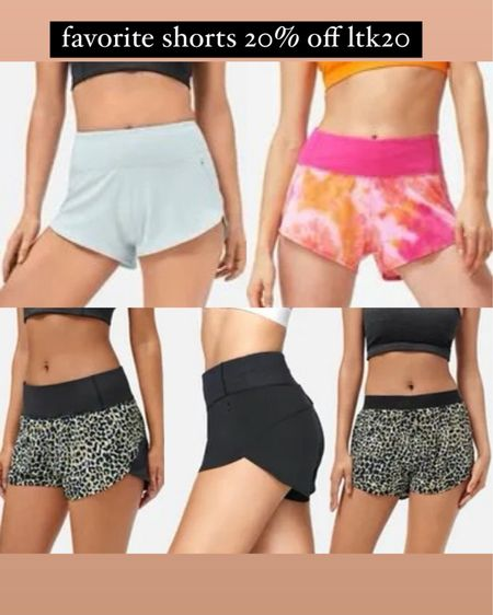 Favorite workout shorts in Xs on sale with code LTK20 http://liketk.it/3hlIX #liketkit @liketoknow.it #LTKfit #LTKDay #LTKunder100