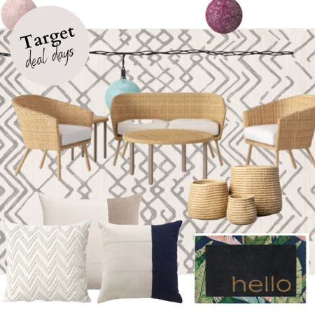 Target deal days - outdoor furniture- outdoor patio design   #LTKfamily #LTKsalealert #LTKSeasonal