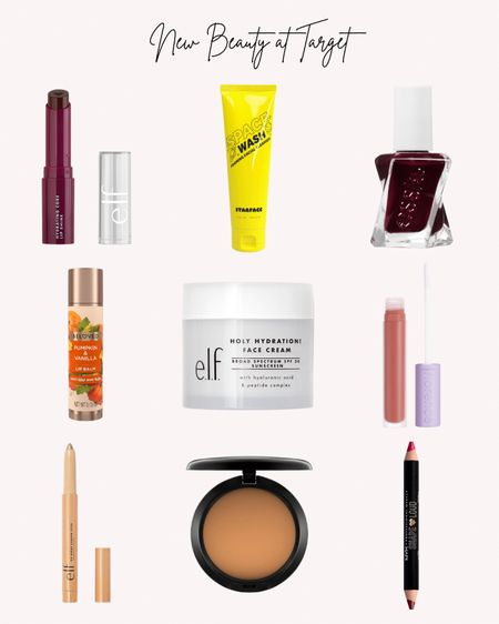 Beauty, new, Target, lipstick, lipgloss, lip pencil, Mac foundation, elf, essie, eye pencil, face wash, lip balm   #LTKbeauty #LTKSeasonal #LTKstyletip