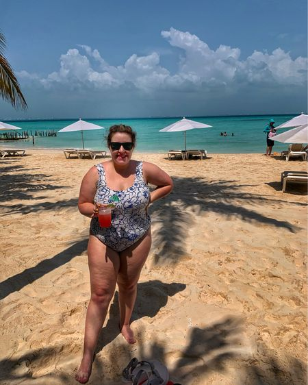 Spending the day on Isla Mujeres in my new suit! This was great to wear under a dress all day. 👙☀️ http://liketk.it/3e1Lr #liketkit @liketoknow.it #LTKswim #LTKcurves #LTKtravel