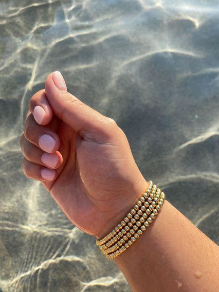 14k gold bracelets under $15 #liketkit @liketoknow.it http://liketk.it/3hBfE #LTKstyletip #LTKswim