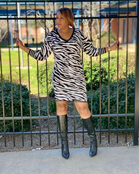 Zebra print dress http://liketk.it/2JVx8 #liketkit @liketoknow.it