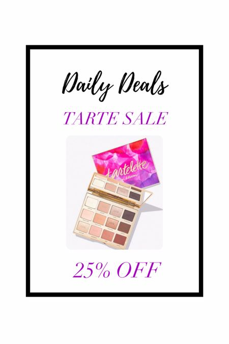 Tarte Cosmetics is on SALE for 25% off! Use code 25NOW — these makeup products are such a great stocking stuffer for the makeup/ beauty lover! Gift guide — gifts for her #LTKgiftspo #liketkit @liketoknow.it http://liketk.it/343rI