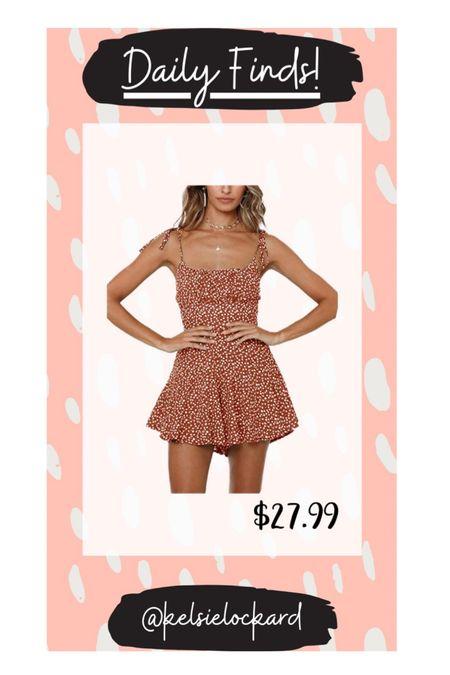 Daily finds! Under $30 dress, summer dress, floral dress, red dress, boho dress, flattering dress, amazon dress, wedding guest dress   #LTKSeasonal #LTKstyletip #LTKunder50