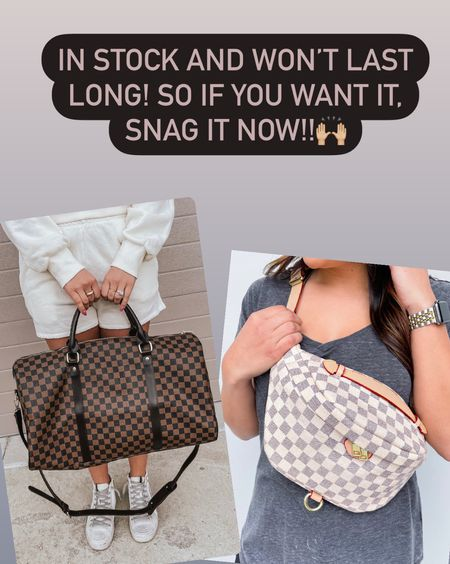 Apricot Lane has these extremely popular bags in stock!! I don't think they will last long, so if you want it definitely snag it now!  #LTKunder50 #LTKfamily