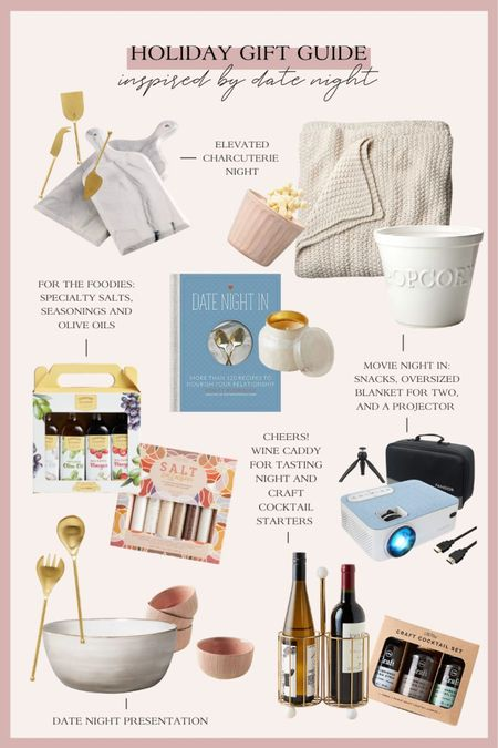 Gifts for couples inspired by date night! Perfect gifts for husbands, wives, parents, neighbors and more! http://liketk.it/33DVD #liketkit @liketoknow.it #LTKgiftspo #StayHomeWithLTK #LTKunder100