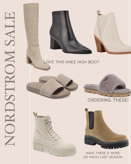 Women's shoe picks from the Nordstrom sale// n sale, booties, heels, sandals, slides http://liketk.it/3jxgb #liketkit @liketoknow.it #LTKsalealert #LTKstyletip #LTKunder100