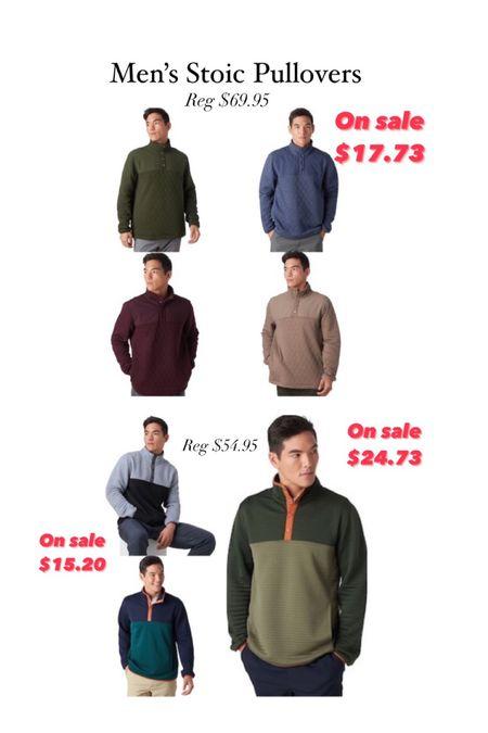 Stoic pullovers    #LTKunder50 #LTKsalealert #LTKmens