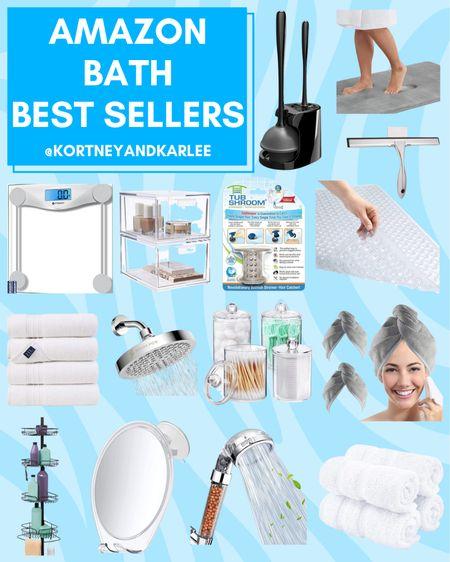 Amazon Bath Best Sellers!  Amazon bathroom decor | amazon bathroom home decor | bathroom decor from amazon | amazon home decor | affordable bathroom decor | affordable bathroom home decor | bathroom decor | amazon finds | amazon home finds | amazon home favorites | amazon bathroom must haves | amazon bathroom refresh | Amazon shower favorites | Amazon shower finds | Amazon shower must haves | Amazon bath must haves | Amazon bath favorites | Amazon bath finds | Kortney and Karlee | #Kortneyandkarlee #LTKunder50 #LTKunder100 #LTKsalealert #LTKstyletip #LTKSeasonal #LTKhome @liketoknow.it #liketkit