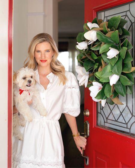 The prettiest white lace dress! http://liketk.it/3fCOT #liketkit @liketoknow.it
