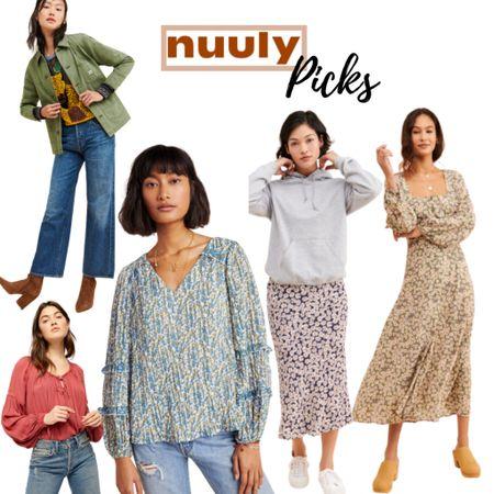 Nuuly picks - Anthropologie Favorites   #LTKsalealert #LTKunder100 #LTKstyletip