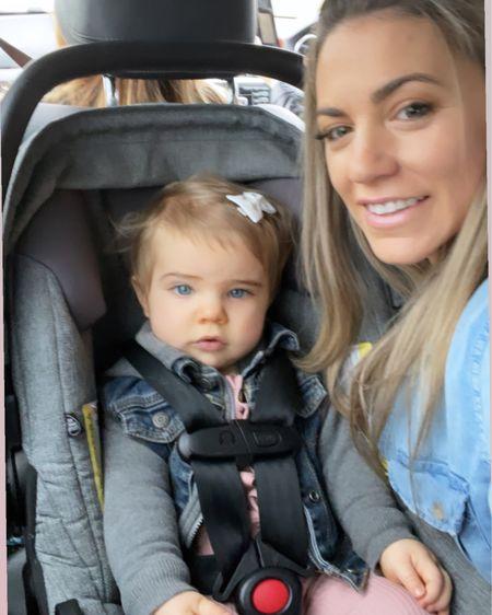 Scarletts ootd and trucker Jean jacket! http://liketk.it/39u2C #liketkit @liketoknow.it