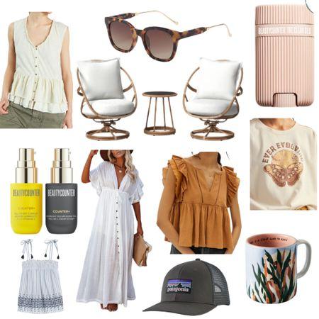 This week's Best Sellers  Sunglasses : Sunnies : Skincare : Skincare Routine : Beauty : Deodorant : Beach Dress : Swim : White Dress : Beach Vacation: Patagonia : Anthropologie : Anthro : Patio : Outdoor : Coffee Mug : Women's Top : Blouse : Beautycounter   #LTKhome #LTKbeauty #LTKsalealert