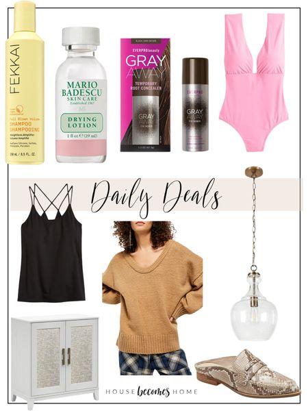 Daily Deals!!!  Skincare, hair, home decor, lighting, ootd, workout, active, sweaters, sales, affordable, fashion   #LTKhome #LTKsalealert #LTKbeauty
