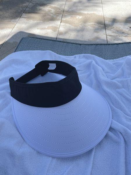 Favorite visors for the beach, pool.