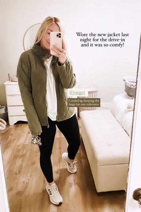 This Free People dupe is definitely going tk be a favorite this fall 🧥🤍 I have linked everything here so you can shop my jacket and the rest of this look! http://liketk.it/2Zz1T @liketoknow.it #liketkit #LTKstyletip #LTKunder50