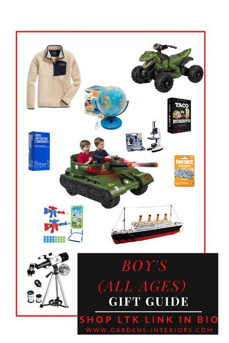 #christmas #boyscchristmas  #LTKHoliday #LTKGiftGuide #LTKkids
