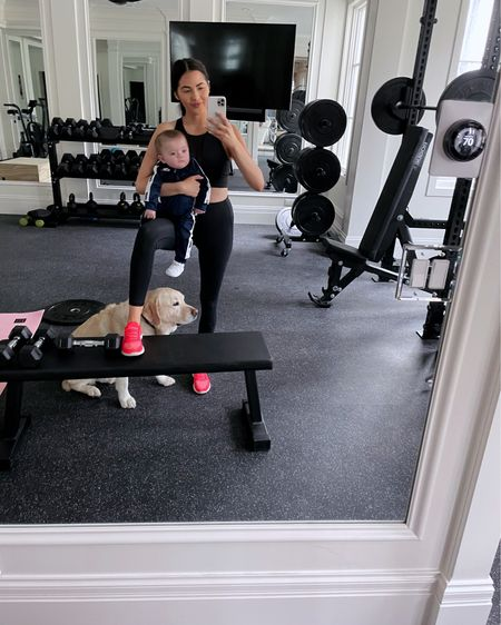 My favorite fitness tips! Get the whole family up and moving! Hit my stories for my @nordstrom workout picks for you, your S.O., and your littles 💪🏼#ad #familyworkout #liketkit @liketoknow.it http://liketk.it/3784Z
