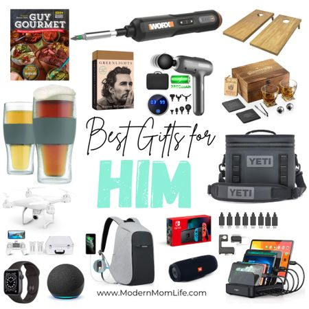 Why are men so hard to shop for? I'm here to help with these last-minute gifts for men! Check out all my favorites on ModernMomLife.com. Here's a preview of my holiday gift guide for men! Enjoy! Did I leave something off? http://liketk.it/34bTI #liketkit @liketoknow.it #LTKmens #LTKunder100 #LTKgiftspo