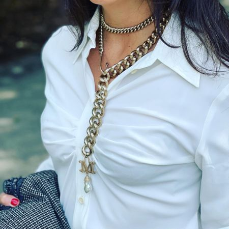 A statement necklace can take you in many places...  #LTKGiftGuide #LTKcurves #LTKstyletip