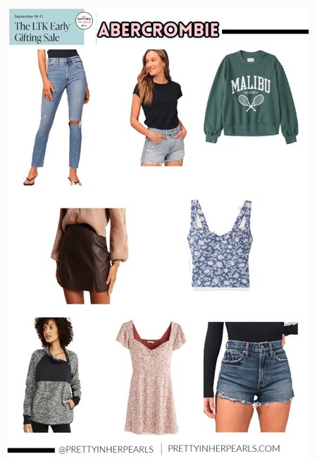 LTK Early Gifting Sale starts today!! This is an app exclusive sale. Abercrombie has an exclusive in app only Sale today!! Here are some of my favorite Abercrombie fall finds that are so cute! They would make great gift ideas too!!  #LTKSale #LTKHoliday #LTKGiftGuide