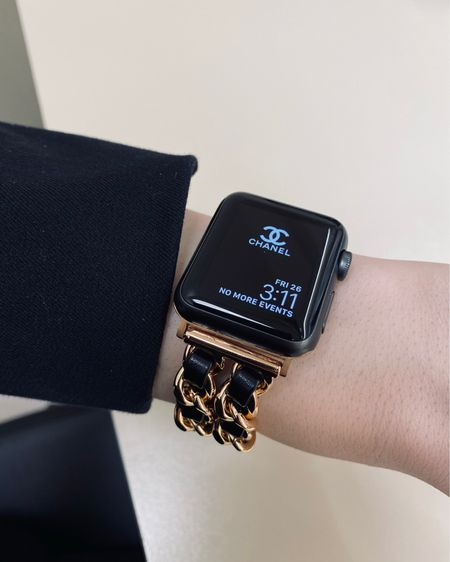 @liketoknow.it http://liketk.it/3cV6Z #liketkit #LTKunder50 #LTKstyletip #LTKhome best designer look alike watch bands. This is from Etsy for $20!!