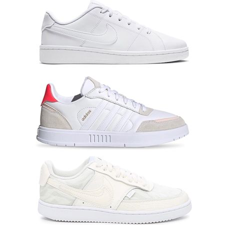 You all chose A (the top pair), I thought I was going to choose C (the bottom pair) but now I've found a white and beige version of B (the middle pair) that I think I really love. Needless to say, I still don't know. A few of you said I should just order all three pairs of white sneakers and you're 100% my kinda girls. 😆 I have a little time tomorrow in the car so I'll definitely be ordering at least one.  Stay tuned...   http://liketk.it/37esK #liketkit @liketoknow.it   Screenshot this pic to get shoppable product details with the LIKEtoKNOW.it shopping app