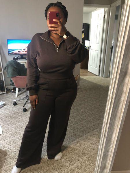 Sweatsuit of my dreams 🤩  Loungewear, matching set, fall outfit #ltkfall  #LTKunder50 #LTKtravel #LTKstyletip