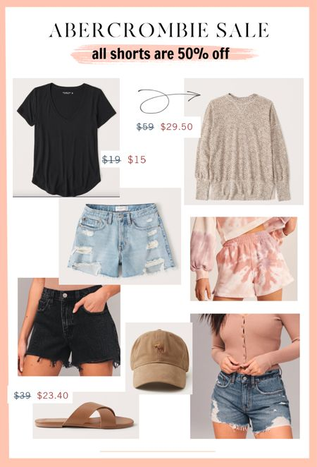 Great Abercrombie sale happening today! All shorts are 50% off. I also rounded up a few other good finds.   #LTKstyletip #LTKunder50 #LTKsalealert