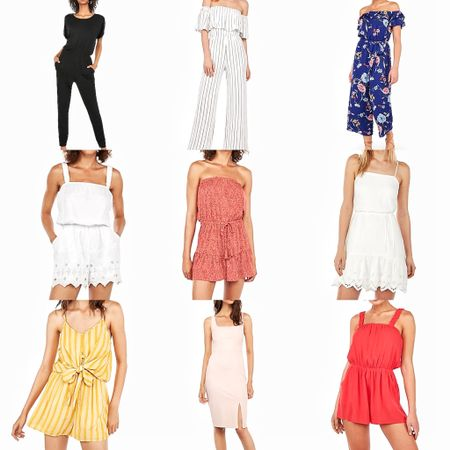My picks from express dresses, rompers and jumpsuits! So many great ones for vacation! http://liketk.it/2CMcv #liketkit @liketoknow.it