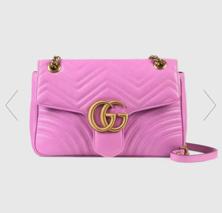 It's back!!! The iconic Gucci pink bag!!!! Part of the reissue collection!! Bag your perfect Gucci handbag before it sells out again!   #LTKworkwear #LTKitbag #LTKwedding