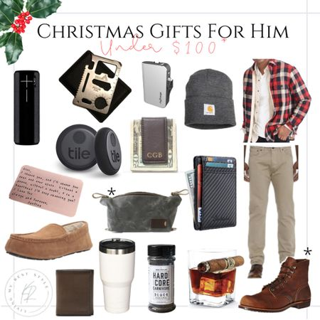 Men's Holiday Gift Guide ✨🎄 http://liketk.it/309rc #liketkit @liketoknow.it  #giftguide #shopping #mensfashion #gifts #mensboots #wallets #menswear #giftsforhim #giftsunder100