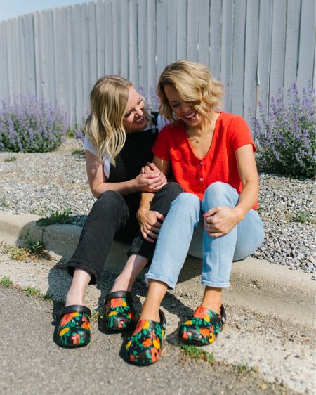 Already killed the flowers I planted for my porch but it's fiiiine! When you have them on your Classic Print Floral @crocs from @dsw, they'll always be in bloom!   Now tell us, if you could create your own custom @crocs from @dsw with any print, what would it be? And don't forget to add Jibbitz! #MyDSW http://liketk.it/3hK5k #liketkit @liketoknow.it