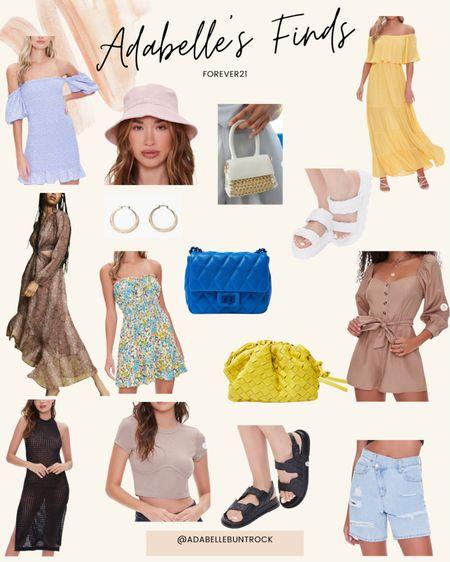 Forever 21 sale dresses bucket hat mini bag purse bottega dupe dad sandals platform shoes @liketoknow.it http://liketk.it/3hmDe #liketkit #LTKDay #LTKunder100 #LTKunder50