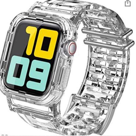Clear watch band. http://liketk.it/3j0m3 @liketoknow.it #liketkit #LTKunder50 #LTKstyletip #LTKbeauty
