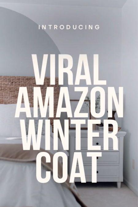 Amazon winter coat, amazon outerwear, viral amazon finds, amazon must haves, amazon winter jacket   #LTKSeasonal #LTKstyletip