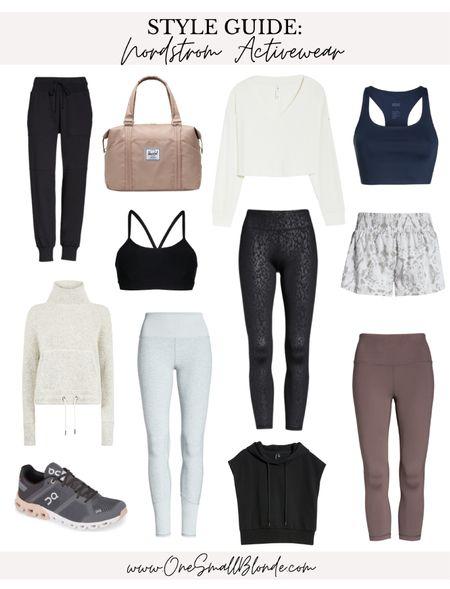 Nordstrom activewear for fall 🖤  #LTKunder100 #LTKSeasonal #LTKfit