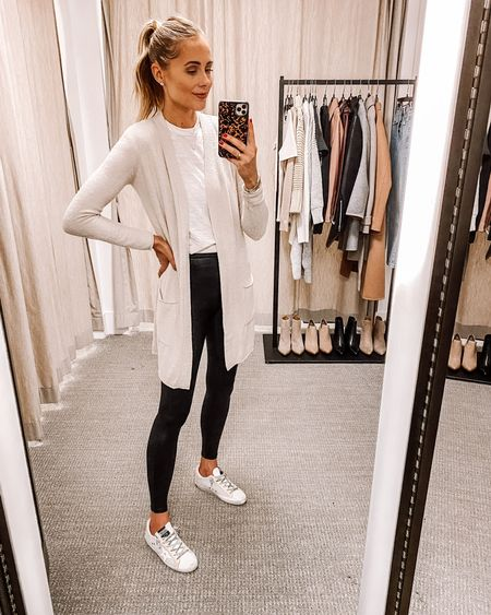 Love this barefoot dreams cardigan from the Nordstrom anniversary sale! It's BEYOND soft and so good with leggings & sneakers for a casual look. Wearing an XS - could definitely size up for a cozier fit. #nsale #nordstromanniversarysale #fashionjackson #liketkit  #LTKsalealert #LTKstyletip #LTKunder100