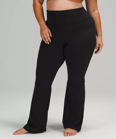 """VERY EXCITING RESTOCK ALERT 🚨 The lululemon Groove Pant aka the highly sought after lululemon """"yoga pants"""" aka lululemon """"flare pants"""" have been restocked in Black in all sizes! I have friends who've been waiting for months for these to restock, so I know they won't last long!   I've also tagged a few of my other personal favs that I highly recommend (and own multiple colors in) for you to check out!   #LTKfit #LTKstyletip #LTKcurves"""