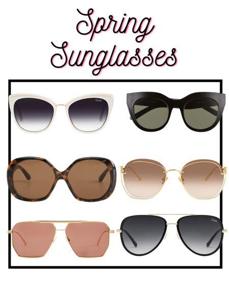 Sunglasses for Spring 😎  @liketoknowit  #sunglasses #springsunglasses #spring2021  #LTKSeasonal #LTKstyletip