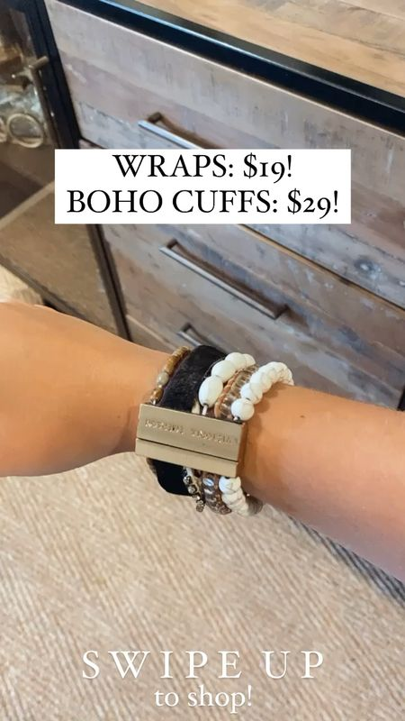 Victoria Emerson wrap bracelets only $19 and boho cuffs only $29!!! 😍 these make great gifts and look really cute with swimsuits!   #LTKunder50 #LTKDay #LTKsalealert http://liketk.it/3gYRY #liketkit @liketoknow.it