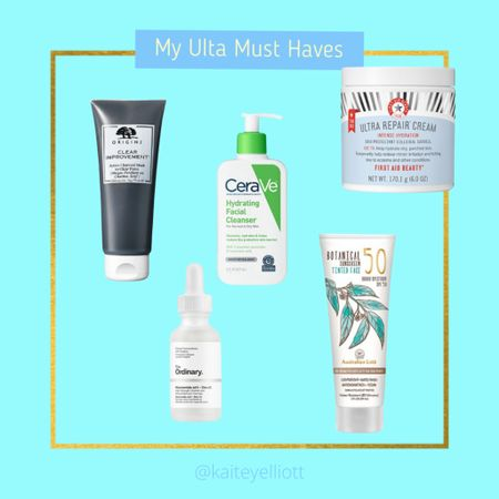 """While I don't have perfect skin, I do know how important it is to take care of it! Here are my """"empties"""" that I keep going back for from Ulta.   #LTKbeauty #LTKunder100 #LTKstyletip"""