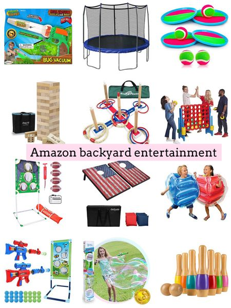 Amazon backyard entertainment. Amazon finds. Kids activities. Family fun. Summer fun. Backyard games  .  http://liketk.it/3ijwf  #liketkit @liketoknow.it #LTKfamily #LTKkids #LTKhome