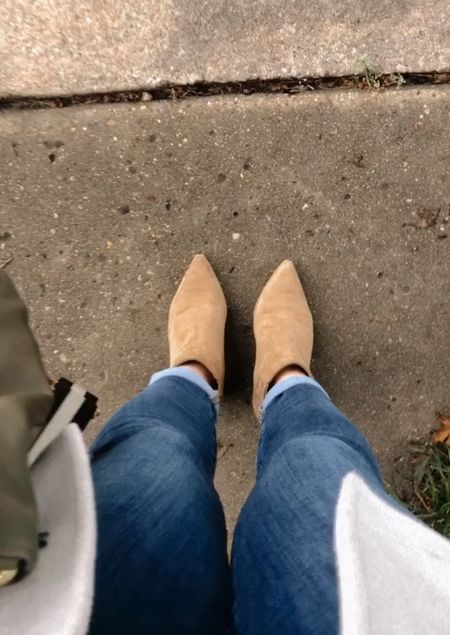 These boots were made for walking. #fallstyle #booties  #LTKshoecrush