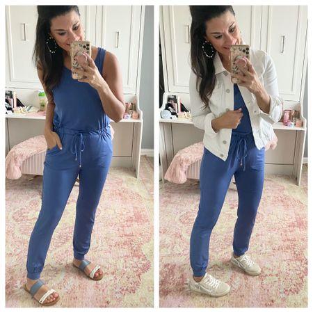 How to wear a blue jumpsuit http://liketk.it/39YaU #liketkit @liketoknow.it