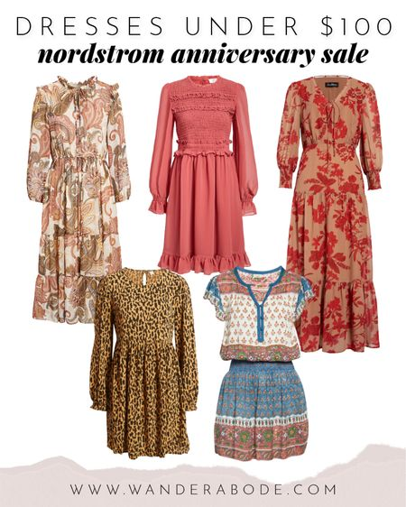 My favorite dresses from the Nordstrom Anniversary Sale, all under $100! You can preview all the items online right now and save them to your wishlist when the sale starts! You can shop as early as August 4th depending on your Nordy Club level.  📆 Early Access Dates: • Icons: Tuesday, August 4th • Ambassadors: Friday, August 7th • Influencers: Monday, August 10th • Insiders: Thursday, August 13th Check your status by logging into your Nordstrom account!  http://liketk.it/2TC1X @liketoknow.it #liketkit #LTKsalealert #LTKunder50 #nsale