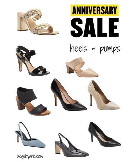 Nordstrom Anniversary Sale shoe picks   #nsale   Block heel sandals  Mules Pumps Stilettos  Sling backs  Heels   #LTKshoecrush #LTKstyletip #LTKsalealert