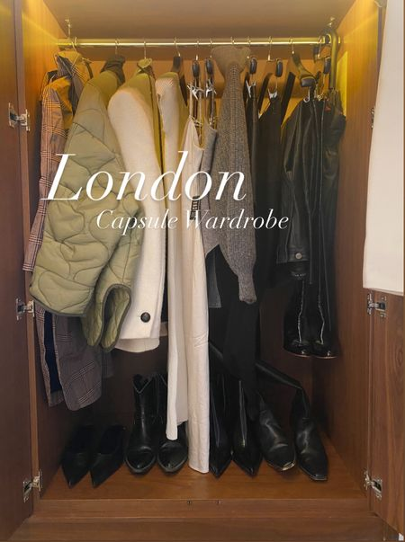 Here is a look at the capsule wardrobe I brought to wear in London this week. These pieces all mix and match so well and I'll be wearing these looks all fall.   #LTKworkwear #LTKeurope #LTKunder100